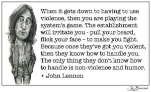 John Lennon - Violence